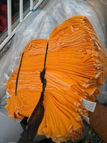 Flanela Limpeza Amarela 460 unidades
