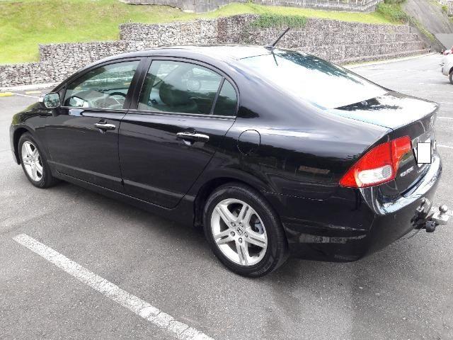 Honda New Civic EXS Automático -Top de Linha - Ano 2009! - Foto 2