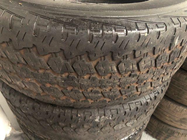 4 pneus 265/65/aro 17 Hillux  vendo as 4  - Foto 2