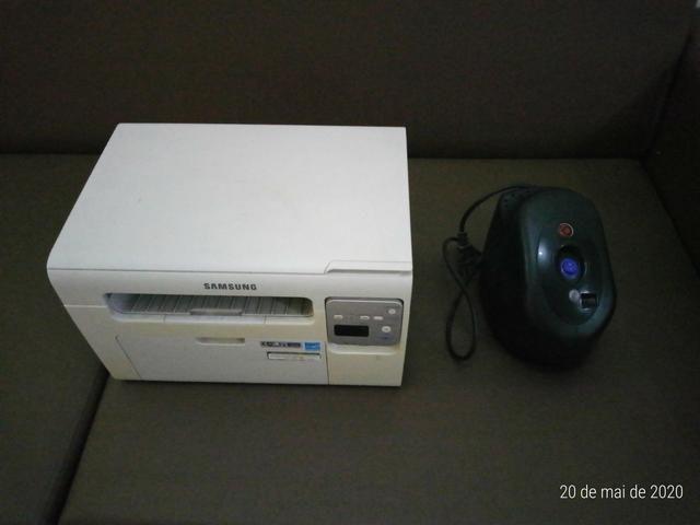 Impressora Multifuncional a laser monoc. Samsung SCX-3405W c/ WiFi e estabilizador 1000w - Foto 2