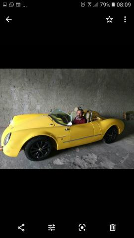 Porsche Spyder mod 1955 réplica do 2009