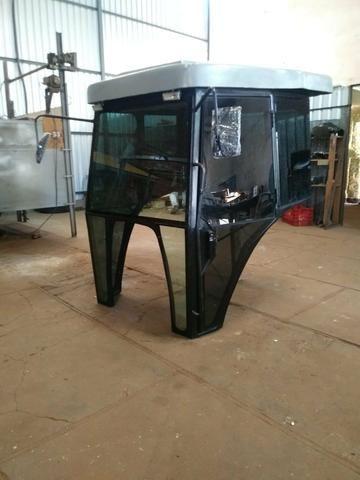 Cabine Para Trator Massey Ferguson 5285 Reformada - Foto 2