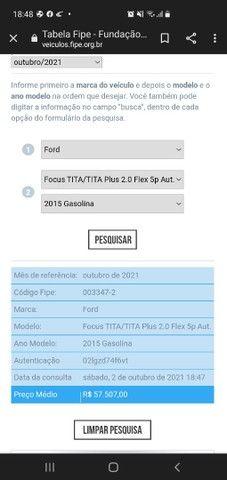 Focus Titanium 2015...Estuda troca menor valor popular completo!!! - Foto 12