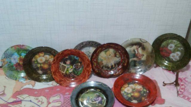 Pratos decorativos - Foto 4