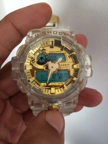 Relógio Casio G-Shock Transparente A prova d'água - Foto 3