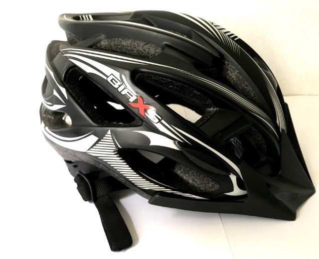Capacete Ciclismo Biaxs Preto Usado - Foto 3