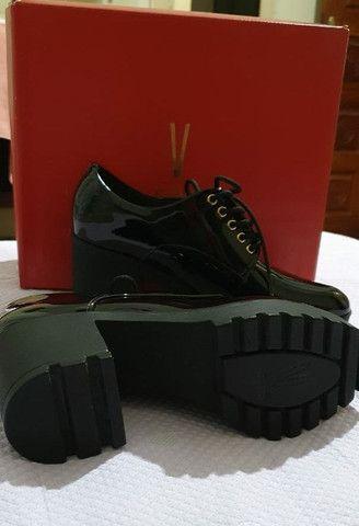 Sapato Vizzano Oxford Tratorado n° 37 <br><br> - Foto 2