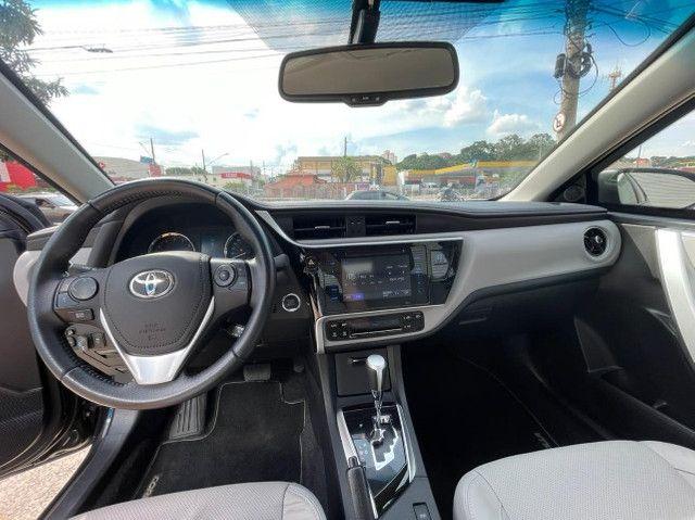 Toyota Corolla Xei 2018 Blindado Impecável - Foto 17