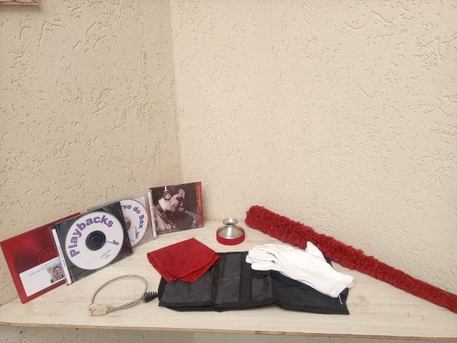 Imperdível, para levar ja...saxofone + kit completo de acessórios  - Foto 2