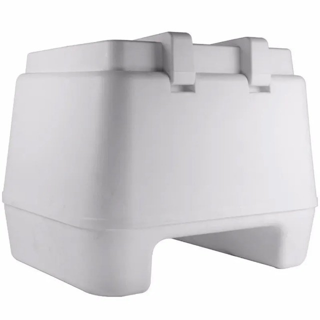 Bau Plástico Injetado 80L Pro Tork Branco - Foto 2
