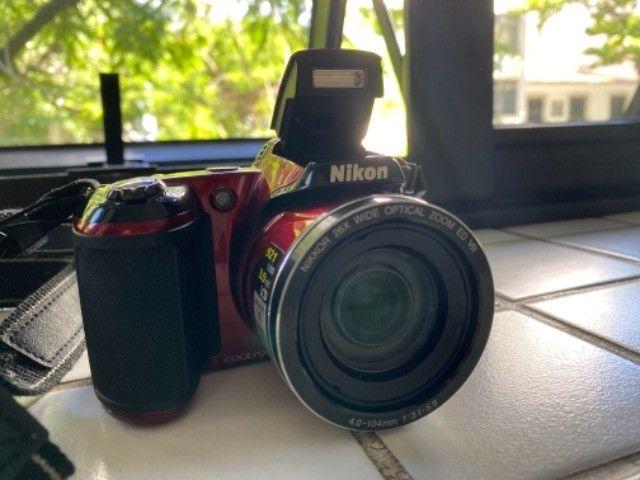 Câmera Nikon coolpix L810 seminova  - Foto 3