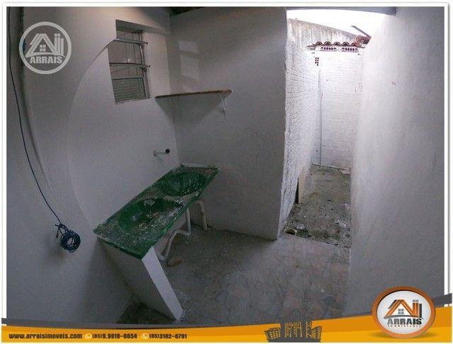 Casa com 3 dormitórios para alugar, 90 m² por R$ 900,00/mês - Vila União - Fortaleza/CE - Foto 14