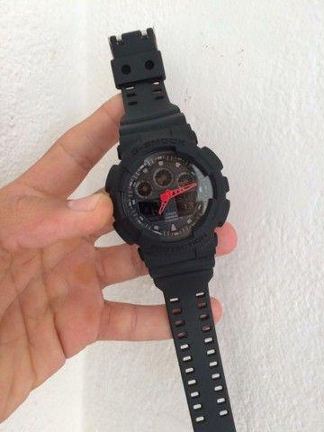 Relogio Casio G-Shock GA-100 A prova d'água  - Foto 2