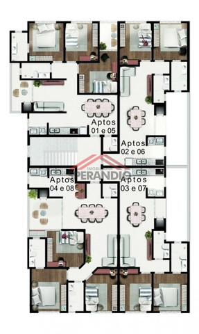 Edifício Vivere - Apto novo, 01 suíte + 02 quartos, 02 garagens, aceita veículo, na Avenid - Foto 20
