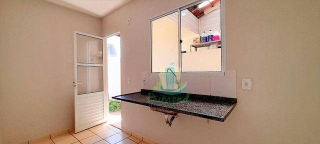 Casa com 3 dormitórios para alugar, 68 m² por R$ 1.800,00/mês - Condominio Residencial Ter - Foto 9