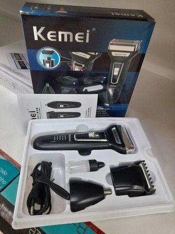 Maquina de cortar cabelo 3em1