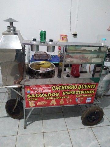 carrinho de churrasquinho - Foto 3