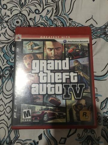 Vendo GTA IV ou troco em good off war 3