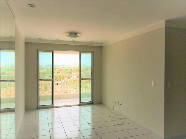 Apartamento 3/4 em Nova Parnamirim - 83 m² com 02 vagas cobertas - Resd. Aquarelle