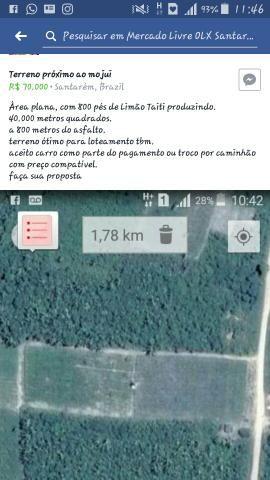 Terreno próximo ao mojui