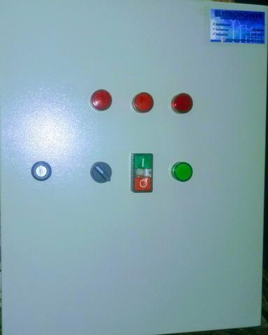 Painel elétrico para piscina 220 V