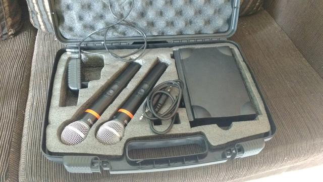 Microfone sem fio Tagima Duplo quem possui sabe da qualidade dessa marca!!!