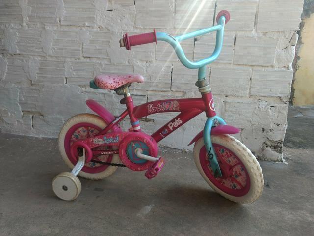 Bicicleta infantil Barbie pet