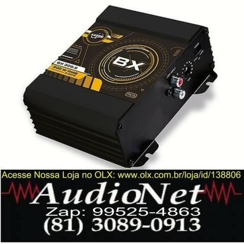 Modulo Amplificador Digital Som Boog Bx300.2 Estereo / Mono Automotivo Carro Som