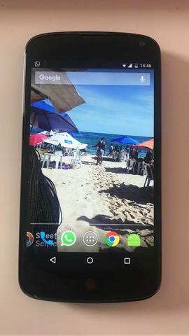 Celular Nexus 4 da LG 32 Gigas