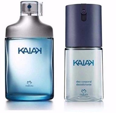 Perfume kaiak natura mais desodorante