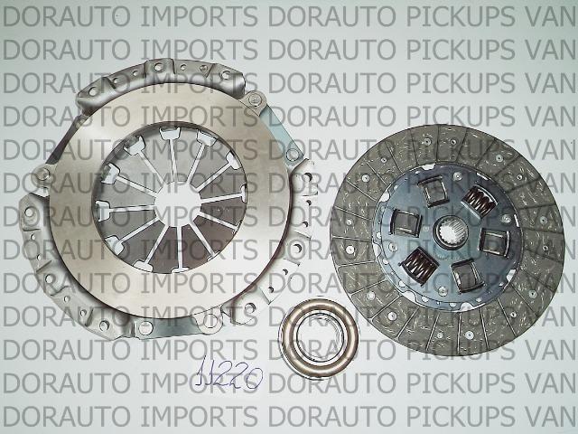 Kit embreagem c/rol pajero tr4 2.0 03/. IO 1.8 01/. 215mm/20 estr