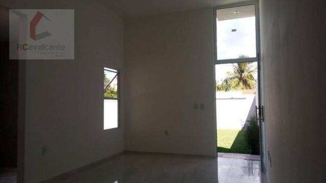Casa Eusébio 03 quartos amplo terreno - Foto 7