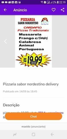 Pizza na promoção