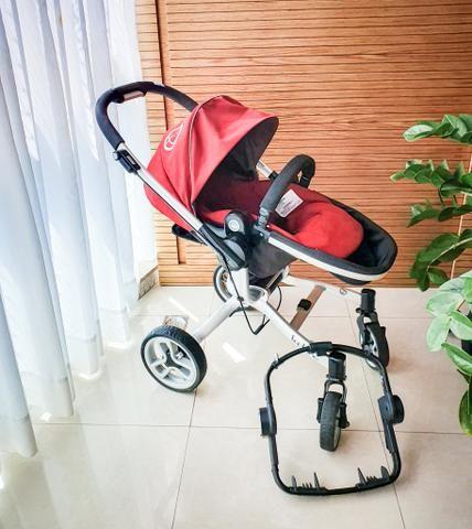 Carrinho de Bebê Teutonia Dobrável - Foto 4