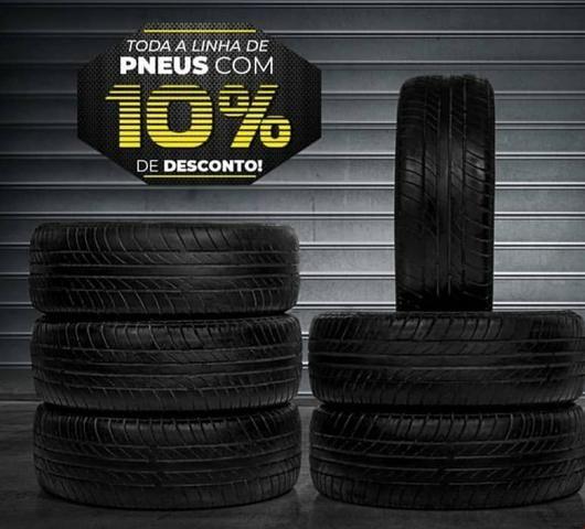 Promoção de pneus novos 10%OFF