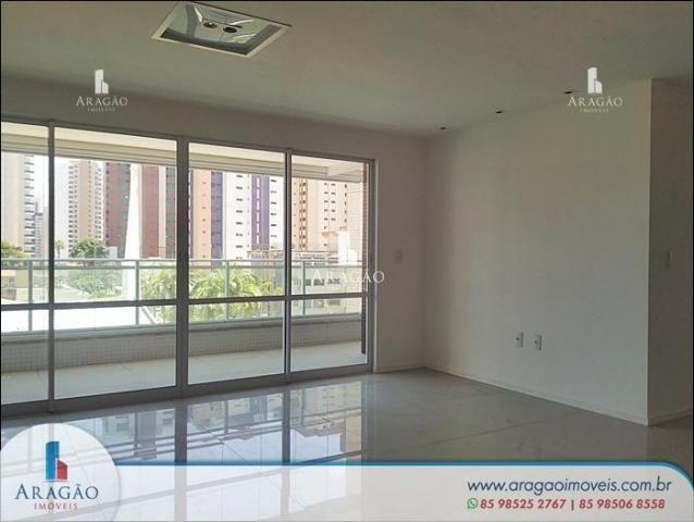 Apartamento com 3 dormitórios à venda, 121 m² por r$ 800.000,00 - aldeota - fortaleza/ce - Foto 3