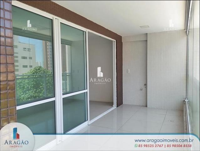 Apartamento com 3 dormitórios à venda, 121 m² por r$ 800.000,00 - aldeota - fortaleza/ce
