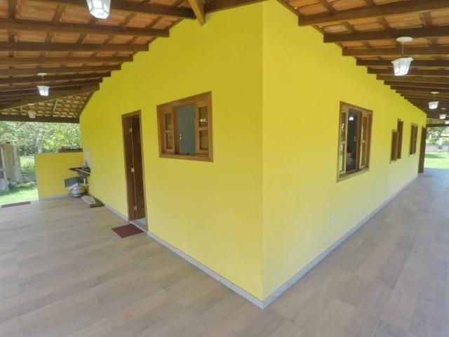Chácara dos sonhos c/ casa de 3 quartos, piscina e área de 1000 m²,600 m da praia - Foto 7