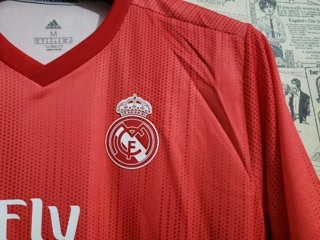 Camisa Real Third Vermelha - Foto 5