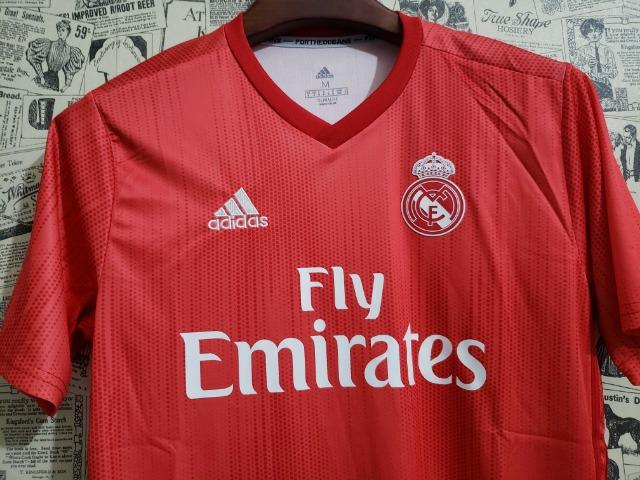 Camisa Real Third Vermelha - Foto 2