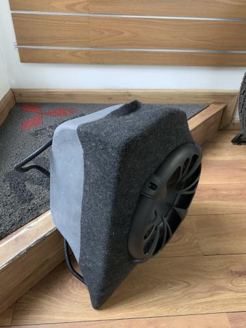 Subwoofer com módulo para mala do mitsubishi lancer - Foto 5