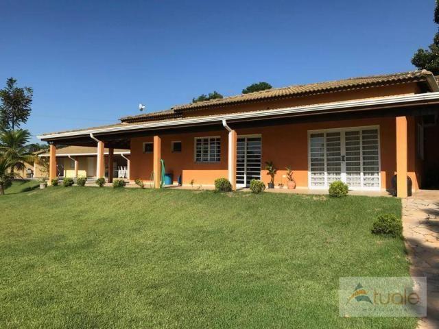 Chácara com 6 dormitórios para alugar, 1354 m² por r$ 5.000,00/mês - chácara recreio alvor - Foto 6
