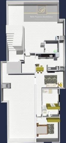 Apartamento com 2 dormitórios à venda, 55 m² por R$ 182.524 - Santa Catarina - Joinville/S - Foto 6