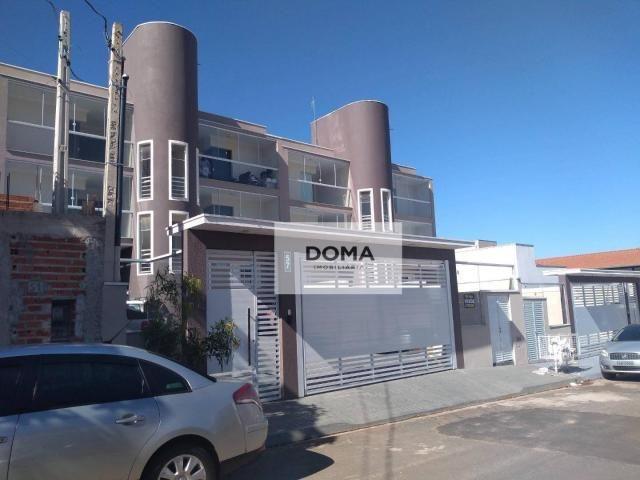 Apartamento com 2 dormitórios à venda, 60 m² por r$ 210.000 - jardim boer i - americana/sp - Foto 2