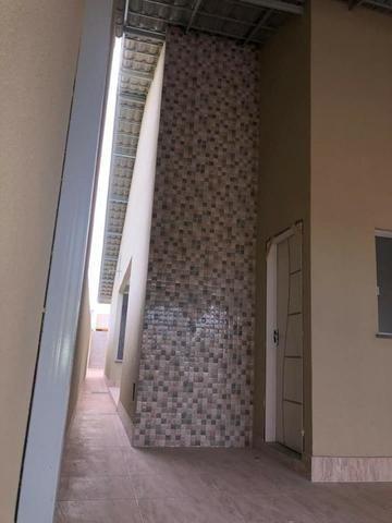 Casa com fino acabamento garagem coberta até 100% financiada pelo Minha Casa Minha Vida - Foto 8
