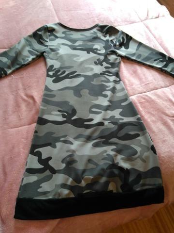 Vestido camuflado - Foto 4