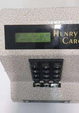 Relógio Ponto Henry Card I