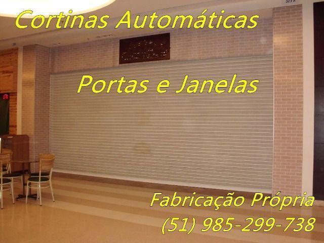 Janelas Portas e Cortinas de Enrolar Automáticas Fábrica em Porto Alegre - Foto 4