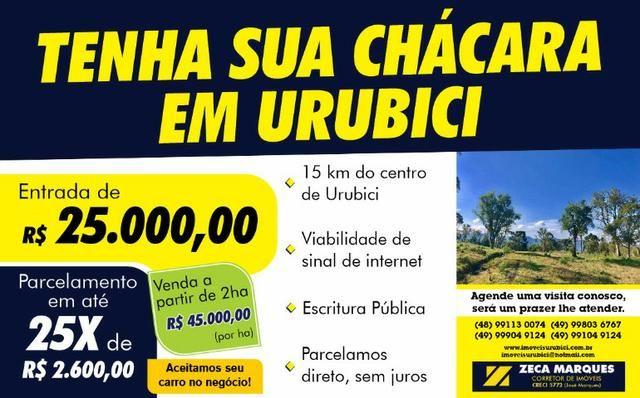 Tenha sua chácara em Urubici/ terrenos em Urubici/ parcelamento direto em Urubici