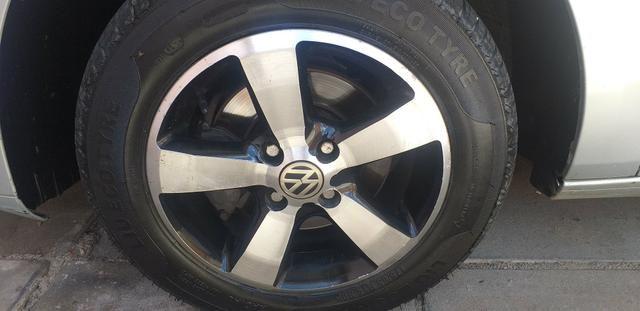 Troco jogo de rodas 14 com o pnel novos em jogo de rodas 17 - Foto 4